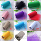 """6"""" 100 yards Tutu Tulle Roll Spool Wedding Party Decoration Gift Wrap Craft Bow"""