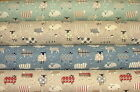 SMD iLiv Baa Baa Sheep Cotton Curtain Blinds Upholstery Quilting Craft Fabric