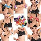 2PC New Women Coins Belly Dancing Wristlet Chiffon Wristband Ankle Cuff Bracelet