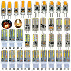 4x 10x G4 G9 1.5W/2W/3W/5W 3014 SMD COB LED Replace Halogen Light Capsule Bulb