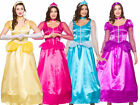 Princess Ladies Fancy Dress Costume Fairytale Book Week Outfit Size 6-24