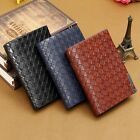 New Men's Genuine Leather Wallet Credit/ID Card Cash Receipt Coin Holder Purse