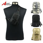 Tactical Outdoor Shoulder Sling Bag Backpack Chest Pack Card/Phone/Wallet Pouch