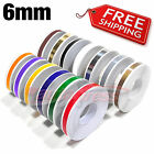 "6mm 0.25"" PinStripe PinStriping Pin Stripe Decals Vinyl SINGLE Line TAPE STICKER"