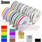 "3mm 1/8"" PinStripe PinStriping SINGLE Steamline PIN TAPE Decals Vinyl STICKERS"