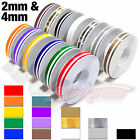 "12mm 1/2"" PinStriping Pin Stripe DOUBLE LINE Tape Decal Sticker Car & Motorcycle"