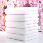 1PC Soft 100% Cotton 73*33cm Hotel Bath Towel Washcloths Hand Towels White