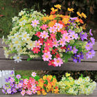 28-Head Artificial Daisy Bouquet Silk Flower Wedding Party Vase Home Room Decor