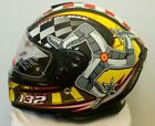 Mann3 Isle of Man TT 132mph Legends Motorcycle Helmet Signed By John McGuinness
