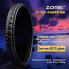 ZOMEI 52/58/67/77/82mm Multi-Coated 18 layer HD ND2-400 Fader Variable ND Filter