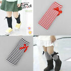 Girls Kids Knee High Socks Bow Princess Stocking Baby Leg Warm Leggings