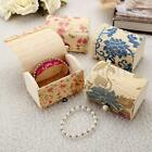 Chic Ring Necklace Earrings Bamboo Wooden Case Jewelry Storage Boxes Gift Box