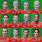 TITLE CHASE Manchester United Preprinted Autographed football card - VARIOUS