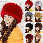 Special Coming Ladies Faux Fox Fur Russian Cossack Style Winter Hat Warm Cap