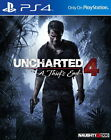 New Sony PlayStation 4 Games Uncharted 4 A Thief's End HK Version Chi/Engl Sub