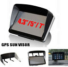"SUN SHADE ANTI GLARE VISOR FOR 4.3"" 5"" 7"" INCH GPS SAT NAV SCREEN SHIELD FRAME"
