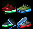 Unisex LED Light Luminous Shoes Sportswear Sneaker Casual Lace Up Shoes US5.5-12