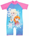 Girls Disney Frozen Anna & Elsa Sunsafe All in One Swimsuit 1.5 to 5 Years