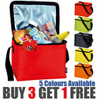 Insulated Thermal Cooler Bag Lunch Time Sandwich Drink Cool Storage Chilled Zip
