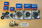 SKF ENGINE BEARING SET. GP 200 TYPE  BB1016-NU2205E-6305-6004-6201 FOR LAMBRETTA