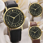 Simple Casual Women Ladies Watches Lide Leather Band Analog Quartz Wrist Watch