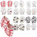 Внешний вид - 4/8 Unisex Newborn Baby Infant Soft Cotton Handguard Anti Scratch Mittens Gloves