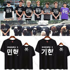 Kpop Monsta X T-shirt Unisex THE CLAN 2.5 Part.1 LOST Tshirt Shownu Tee Tops I.M