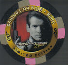 JAMES BOND THE WORLD IS NOT ENOUGH CASINO CHIP C1 $11.94 AUD