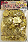 Bag of Gold Coins 144 PCS Treasure Booty Dabloons Party Grab Bag Fillers 67746