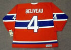 JEAN BELIVEAU Montreal Canadiens 1968 CCM Vintage Throwback NHL Hockey Jersey