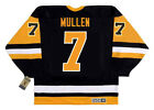 JOE MULLEN Pittsburgh Penguins 1992 CCM Vintage Throwback NHL Hockey Jersey