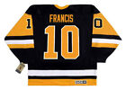 RON FRANCIS Pittsburgh Penguins 1992 CCM Vintage Throwback NHL Hockey Jersey
