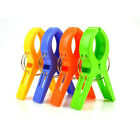 Plastic Strong Beach Towel Clips Fun Bright Colors Prevents Towels Blowing Away