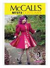 McCall's Costume SEWING PATTERN M7373 Misses Lined Coats 6-14 Or 14-22