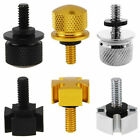 "2PCS 1/4""-20 Seat Mount Bolt Screw Cap For Harley Softail Dyna Sportster 96-15"