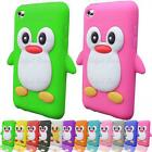 Penguin Silicone Case For Apple iPod Touch 4