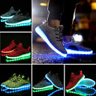 Hot !Spring Summer Fashion LED Light Shoes Lace Up Luminous Sneaker Casual Shoes