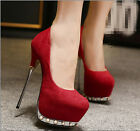Womens Pumps Platfrom High Heels Bridesmaid Weeding Dress Shoes Nightclubs B435
