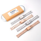 KR-NET Stainless Steel Metal Strap Watch Band for Withings Activite Pop Steel US