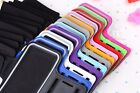 For Apple iPhone Outdoor Running PU Leather Case Arm Sleeve Phone Belt