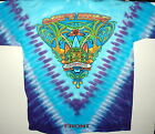 "GOV'T MULE ""SURF'S UP"" SUMMER TOUR 2007 2-SIDED TIE DYE T-SHIRT NEW"
