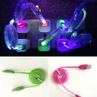 Light-up LED USB Data Sync Charger Cable Charging Cord For iPhone Android HTC CA