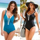 Monokini Swimwear Push Up Padded Women's One Piece Sexy Swimsuit Bathing Bikini