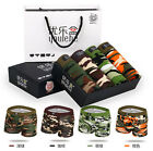 4PCS Mens Sexy Military Camouflage Boxer Underwear
