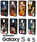 A New Hope Star Wars Cartoon Samsung Galaxy S4 S5 PLASTIC Phone Case Movie Retro $13.07 CAD on eBay