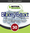 Bilberry  Extract 2400mg Capsules  MIN 25% OF ANTHOCYANINS