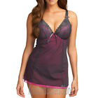 Freya Lingerie Icon Moulded Plunge Babydoll Storm Grey 1664 NEW Select Size