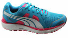 Puma Faas 550 NM Womens Trainers Running Shoes Blue Mesh Lace Up 186269 04 D36
