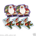 PACK OF 5 CHRISTMAS NOTE PADS / PAD - STOCKING FILLER GIFT - SANTA OR REINDEER