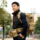 55L Molle Tactical Outdoor Assault Military Rucksack Backpack shoulder Bag N1M2